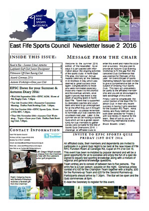 Newsletter Issue 2 2016