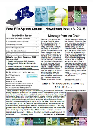 Newsletter Issue 3 2015